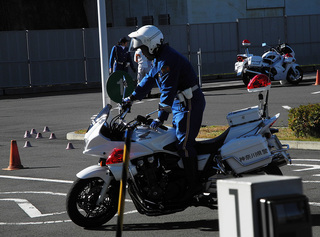 神奈川県二輪車安全運転講習会!