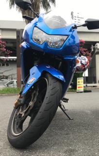 NINJA250Rに「S20EVO」(Hレンジ) ラジアルタイヤ つけっちゃた!! パート2