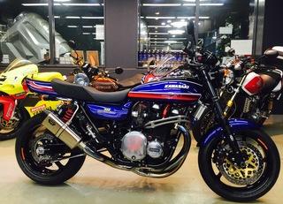 Kawasaki 900 super4 「Z-1」のカスタムの方向性