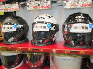 ヘルメットコーナー!新色ラッシュ!