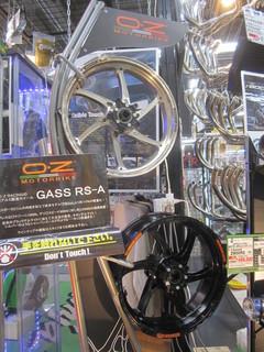 OZホイール GASS RS-Aに交換! CB1300とDAEG