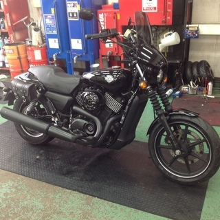 Harley-Davidson STREET750(XG750) タイヤ交換