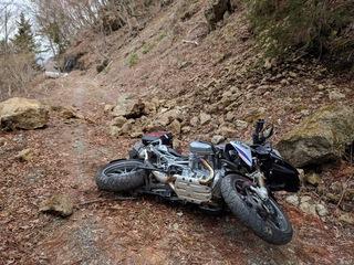 【要注意】バイクの転倒への対処法