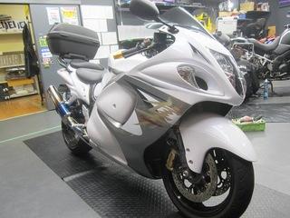 GSX1300R隼 タイヤ交換