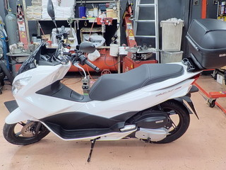 HONDA PCX150 MICHELIN CITY GRIP タイヤ交換