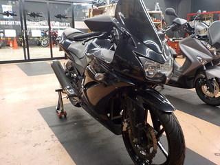カワサキ NINJA250R IRC RX-02 タイヤ交換