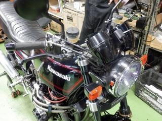 二輪用ETCの装着実例 『Z1000 MK-Ⅱ』スッキリ!!