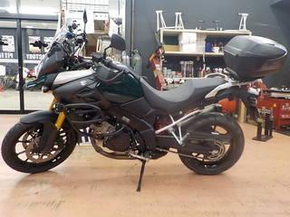 スズキ V-strom1000 ブリヂストン A40 タイヤ交換