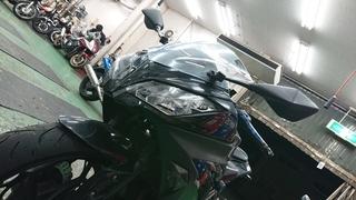 Ninja300「S20 EVO」タイヤ交換