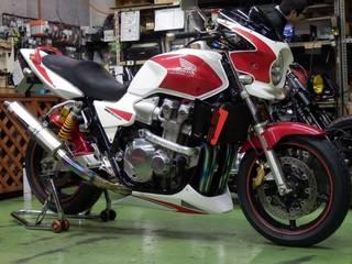 ホンダ CB1300SF★タイヤ交換★ブリヂストン RS10