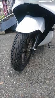 ホンダ PCX150 ミシュラン CITY GRIP 前後タイヤ交換