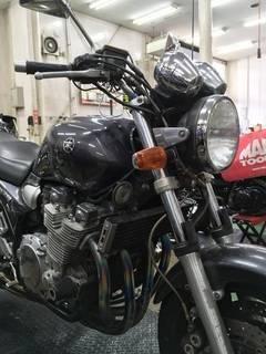XJR1300 タイヤ交換