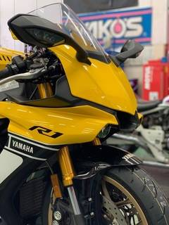 YZF-R1 ブリヂストン TS-100 タイヤ交換