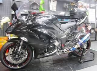 KAWASAKI【Ninja1000 タイヤ交換】ブリヂストン S22