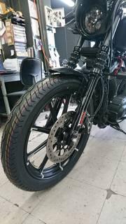 ハーレー XL883N アイアン ブリヂストン H50 タイヤ交換