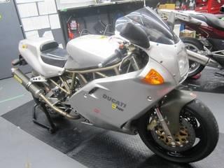 ドカティ【900SS タイヤ交換】ブリヂストン BT-016PRO
