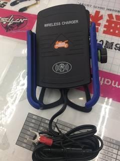 最先端!? ワイヤレス充電スマホホルダー!