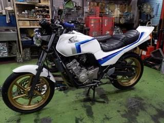 ホンダ JADE『タイヤ交換』IRC RX-02