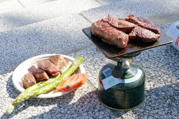 <原付ツーリング> ヨコザワテッパン編~近場でお肉を焼いて食ってみる~