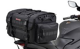 キャンプツーリングに最適なバッグや積載製品のご紹介