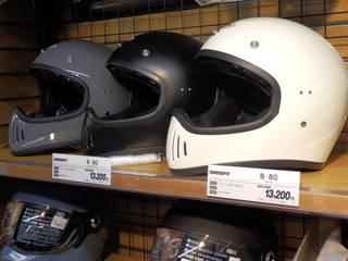 SPEEDPIT / スピードピット ヘルメット『B-80』のデザインにピンときた!