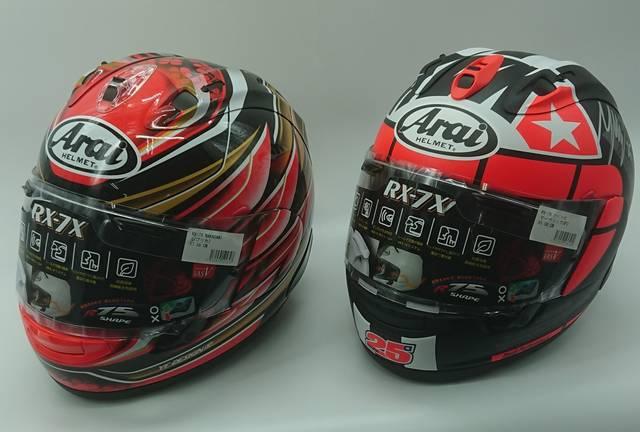 MotoGPライダーの直筆サイン入りAraiヘルメットが手に入る!